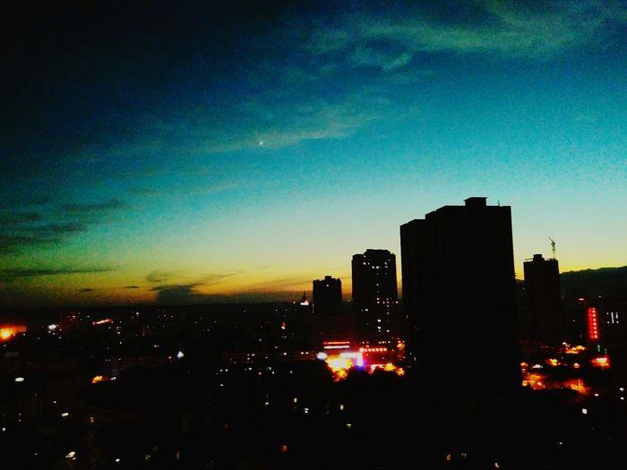 库尔勒夜景 First Eyeem Photo