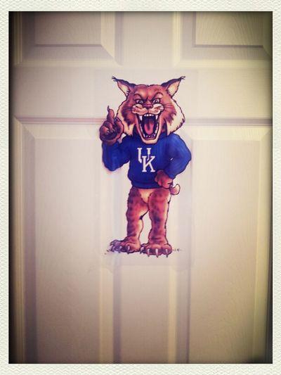 The New Sticker On My Door