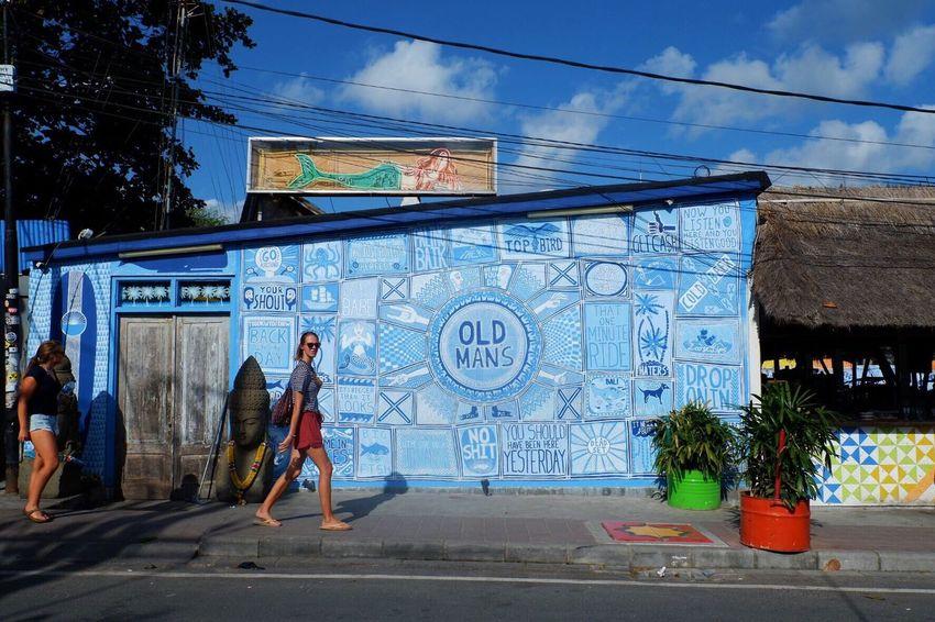 Hey! Old man Bali Summer Oldman Canggu Blue