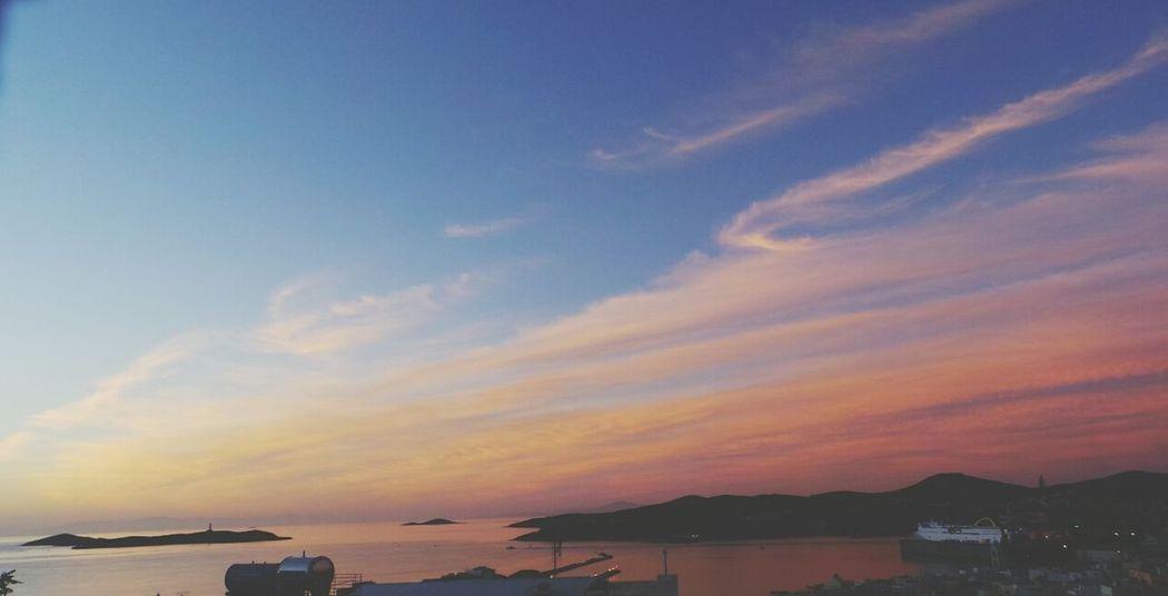 pink morning! Goodmorning :)