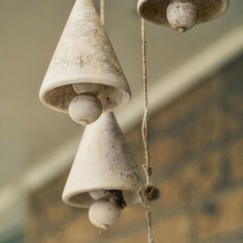 Close-Up Of Old Wind Chimes