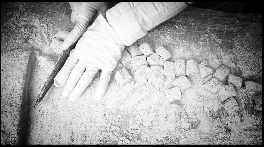 Ricecake Cutting Newyear's Day Snap Photo @korea seoul jongro @Panasonic G3 / 14mm f2.5