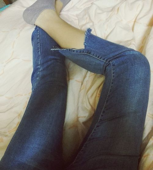 Jeans Low Section Limb Human Leg Casual Clothing Human Body Part One Person