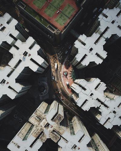 @itchban / itchban.com Drone  Architecture Building Building Exterior Built Structure City Drone Photography High Angle View The Architect - 2018 EyeEm Awards