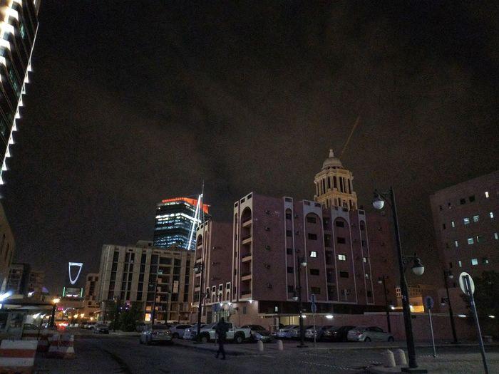 Architecture Built Structure Building Exterior Illuminated Night City Land Vehicle