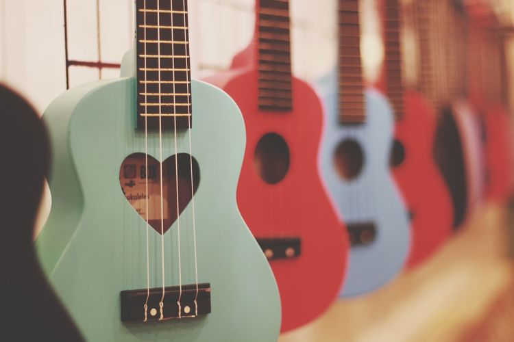 Love Guitars... guitar Ukalele Music Musical Instrument Arts Culture And Entertainment Guitar Indoors  Musical Instrument String Close-up Musician Day People