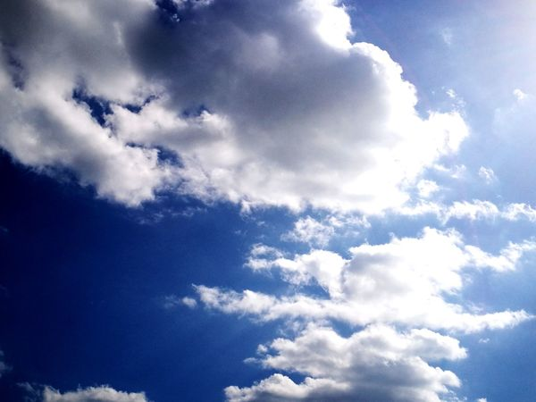 Cloud - Sky Sky Blue Nature Cloudscape Day Freedom Sky Only Outdoors No People Wind Backgrounds Beauty In Nature Flying Space