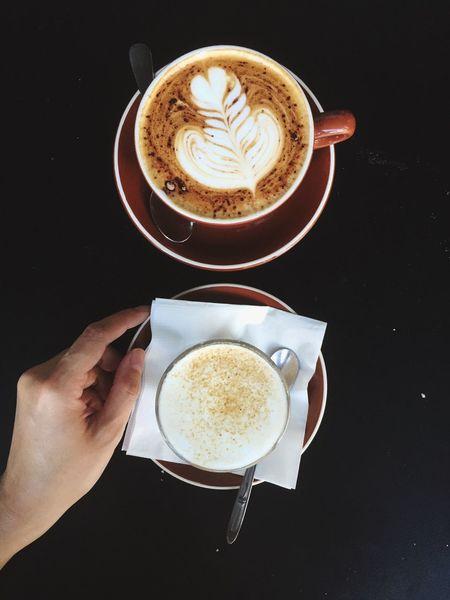 Cappucino and Chai Latte - Open Edit