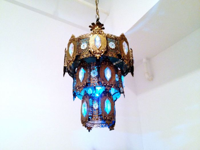 Chandelier Hanging Lamp Gold Feeling At Home Lamp New York Turkish Lamp Antique Interior Design Interior