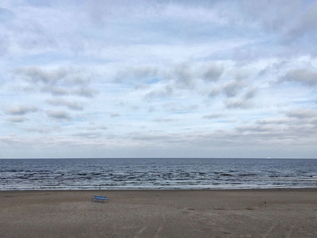 Beach Cloud - Sky Horizon Over Water No People Outdoors Sea Tranquil Scene Tranquility IPhoneography Iphonegraphy