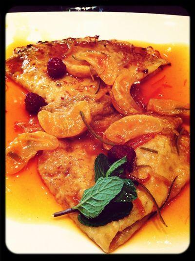 Crepes Suzettes Aux Mandarines (à Tomber Par Terre)