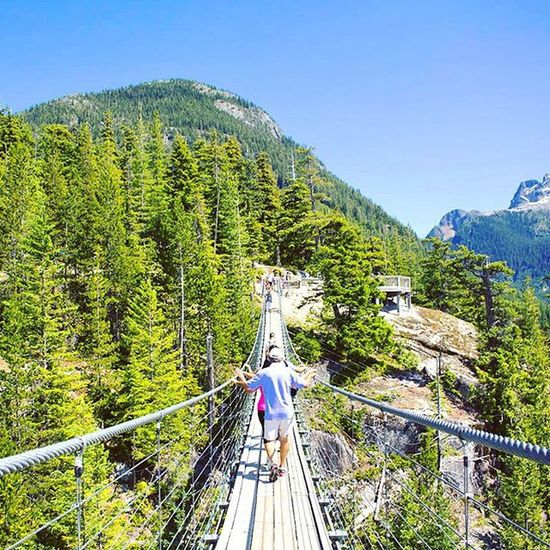 """The journey of a thousand miles begins with one step"" - Lao Tzu TheChief Squamish Bridge Landscape Explorebc Vancitybuzz Vancityhype Warrenjc Imagesofcanada @imagesofcanada"