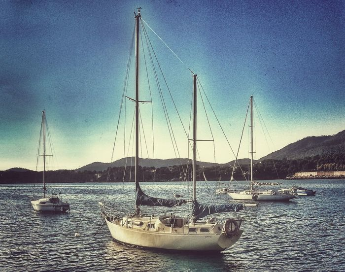 Landscape Sea Boat Eye4photography