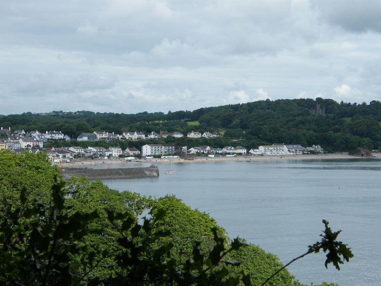 Architecture Beauty In Nature Cloud - Sky Day Growth Nature Nautical Vessel No People Outdoors Pembrokeshire Pembrokeshire Coast Pembrokeshire Coastal Path Sailboat Saundersfoot Saundersfoot Harbour Sky Tree Water