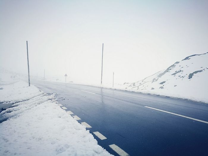 Check This Out Summer Views Snow ❄ Mountain Road