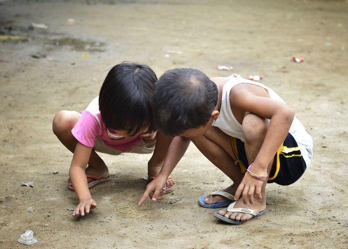 Kids Playing Marinduque,Philippines