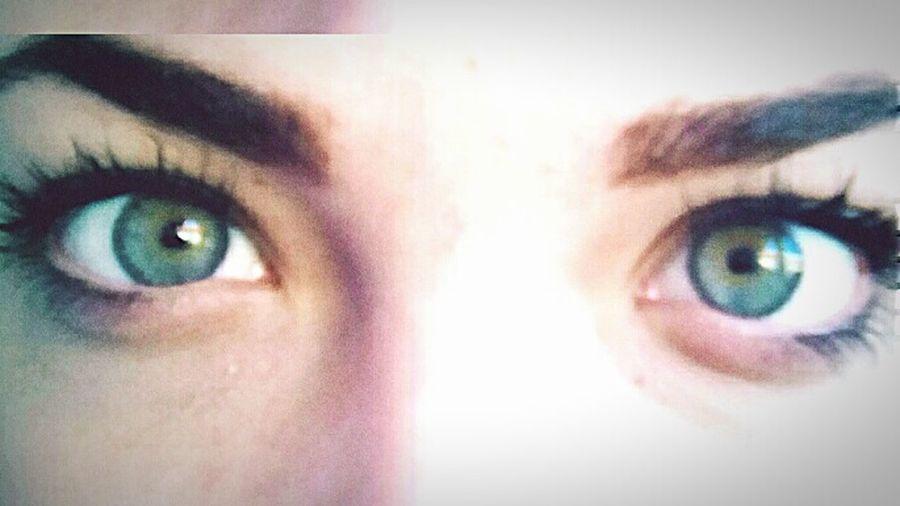 Nu e de mirare că cerul e gri,tot albastrul e în ochii mei. First Eyeem Photo