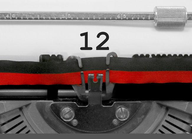 12 Number by the old typewriter BIG NR Numbers Only Retro Text Type Writer Writing Backgrounds Nostalgia Number Numbers Numeral Numerals Numeric Page Single Twelve Typewriter Typewriting Typing Vintage Written