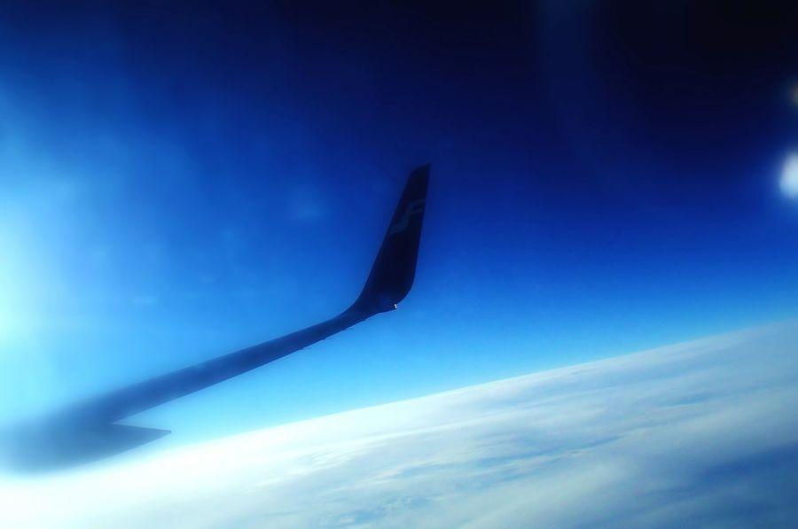 Airplane Finnair Beijing Barcelona Colors Hello World Relaxing Hi!