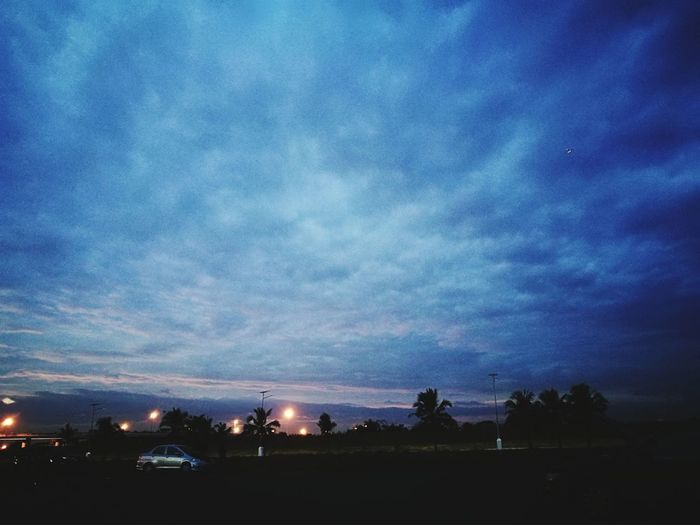Night Dusk Sky