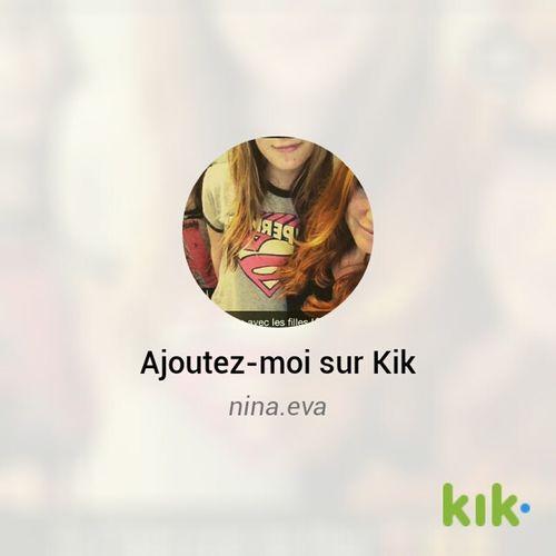 Kik Me ♥