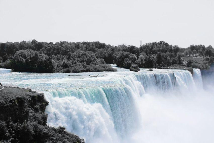 Niagra Falls Waterfall Beauty In Nature Flowing Water Niagara Falls NY Niagarafälle Water Been There.