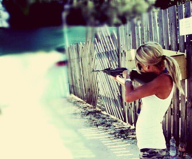 Blonde Women Nature Fegyver Sport Words Hungary