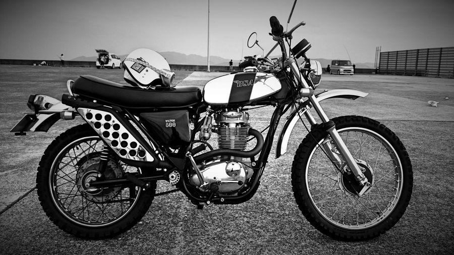 BSA B50 Motorcycle Monochrome Blackandwhite Eye4photography  XPERIA EyeEm Kumamoto-shi 500cc