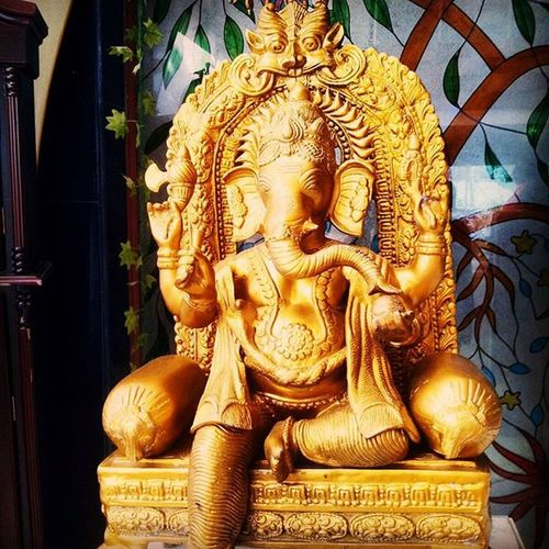 LordGanesha GanpatiBappaMorya Ganpati BeautifulPic Clicked Haridwar Hotel India Intagram