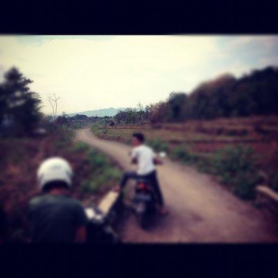 Ipad Liangmaung Sumedang Jabar indonesia november 2012 motor honda