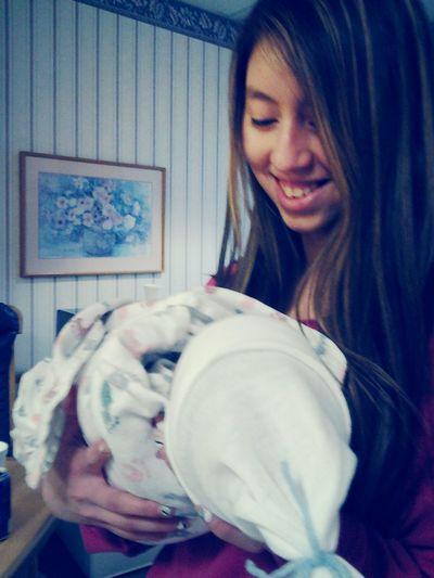 My new baby born brothern<3