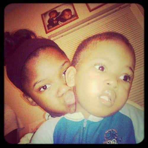 Me And My Babii Maurice!!!