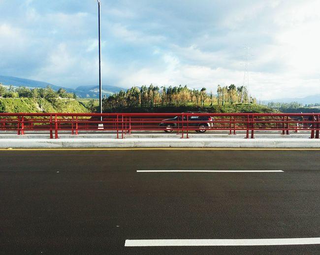 Ecuador Ecuador Mountain And Sky Bridge Quito Ruta Viva Hello World Landscape TakeoverContrast