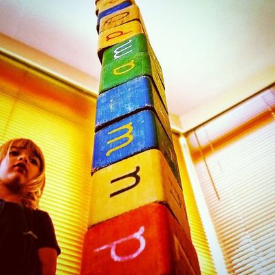 Early morning block tower Little_munchkin_patch_Childcare
