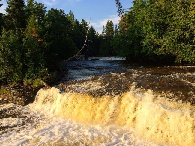 Tahquamenon falls upper peninsula NorthernMichigan gorgeous
