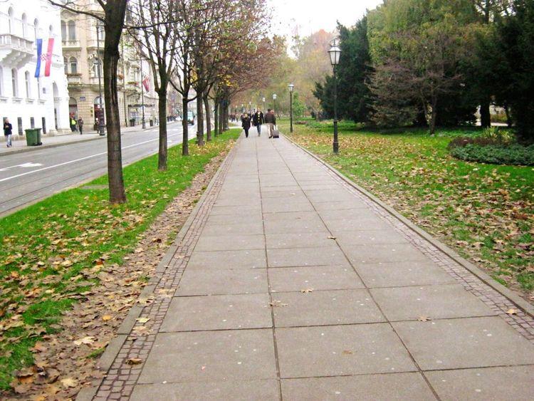 park. in Zagreb. Zagreb Zagreb, Croatia Croatia Hrvatska Park Green City Life City Leaves Europe