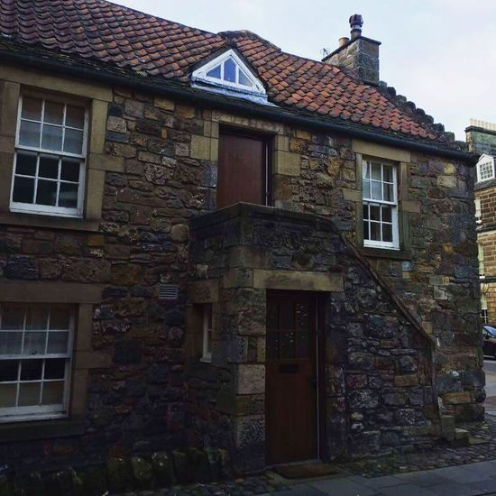 Architecture Building Exterior Built Structure Window House Door No People Outdoors Day Tranquility Scene Scotland Standrews Fife  Fife Scotland Home Beauty In Nature Homeforever Coastal Life