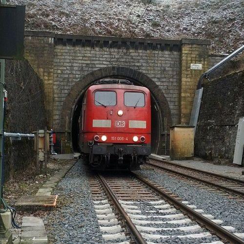 Auf dem Weg nach Kassel RehbergTunnel Altenbeken Bahn