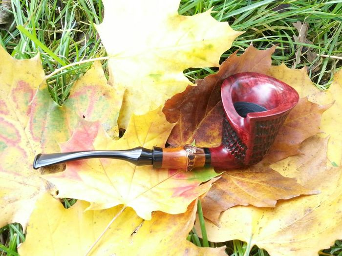 The Dublin Tobacco Pipe made by Ygrek Pipes Basel Switzerland