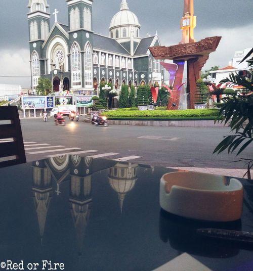 Chiều bên tách cà phê Binhduongcity Vietnam Relaxing