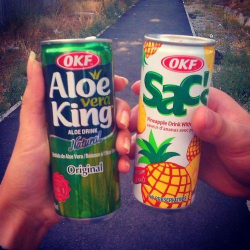 Пробовали вредные вкусняхи ) Aloeveraking не такой вкусный, как ожидалось, надо попробовать с каким-нибудь вкусом гуляли слюбимым