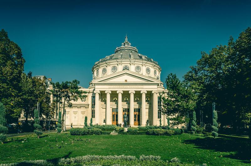 Architecture Bucharest Building Building Exterior City Culture Day Romania Travel Destinations