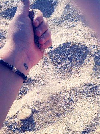 SandSpring Tattoo Infinity