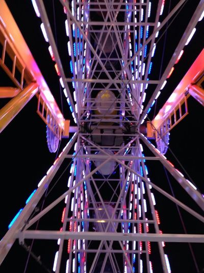 Love Having Fun Light And Shadow Ferris Wheel with both loves of my life....Joe and MC