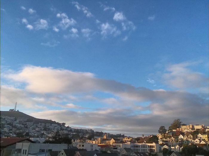 Sky Clouds San Francisco Beautiful Sunset Eyeemphotography Phoneography City Sky