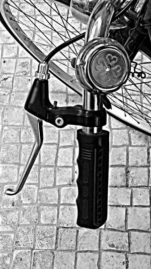 Bell Ring Grip Bycicle Eyeem Bycicle B&w Photography EyeEm Best Shots - Black + White Streetphotography Street Photography Popular Photos EyeEm Gallery EyeEm The Best Shots EyeEm Best Shots Eyeemphotography Check This Out Eye4photography  EyeEmBestPics Geometric Shapes Cobblestone Cobblestone Streets