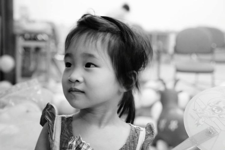 Hello World My Sister Hanging Out Just Smiling Relaxing Happyday Let's Take A Trip  Enjoying The View Children's Portraits B&W Portrait