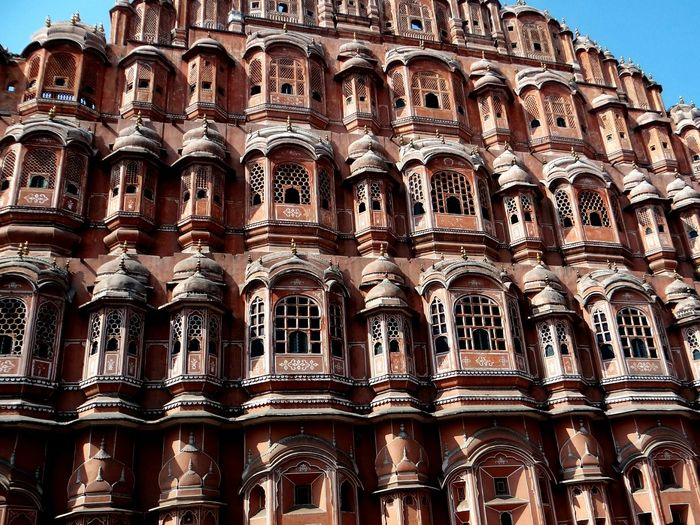Architecture Large Group Of People Travel Destinations Tourism Lifestyles Travel Building Exterior Tourist City Cultures Real People Built Structure History Outdoors Day Sky People Hawamahal Jaipur Rajasthan Architectural Detail Beautiful View Pinkcity Jaipur First Eyeem Photo
