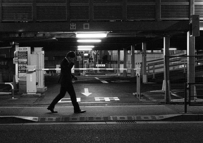 Snapshot Urban People Streetphotography_bw Blackandwhite Night Nightphotography Kichijoji 吉祥寺 , Tokyo