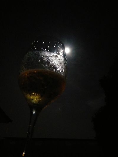 A toast to the moonlight! #NoFilter Nature Photography @RioDeJaneiro Drink Drinking Glass